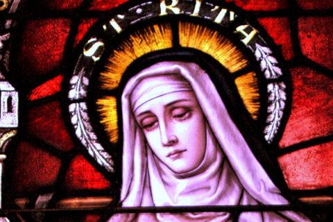 Św. Rita – dostać różę od Jezusa