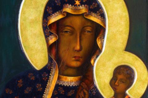 Czarna Madonna, Niepokalana